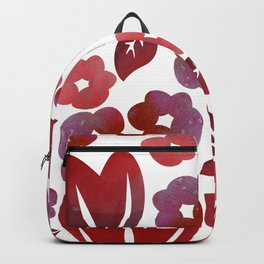 Red Blooms Backpack