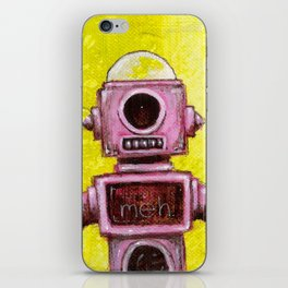 Meh Bot iPhone Skin