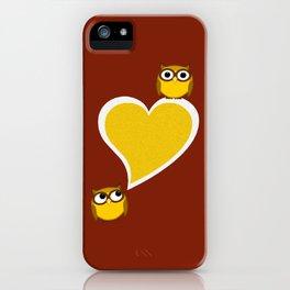 Hoo? Me? iPhone Case