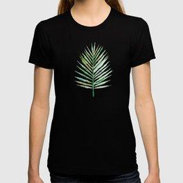 Watercolor Tropical Palm Leaf T-shirt