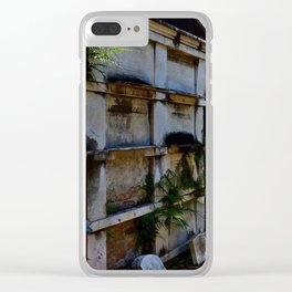 Lafayette Cemetery - Graves and Ferns Clear iPhone Case
