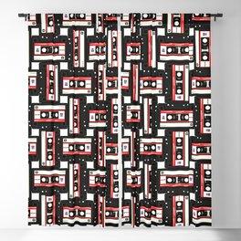 cassette pattern fill Blackout Curtain