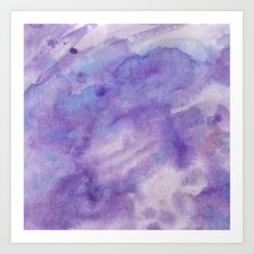 Purple Square Art Print