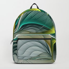 Fractal Evolution, Abstract Art Graphic Backpack