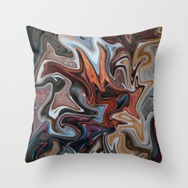 Caffine High Throw Pillow