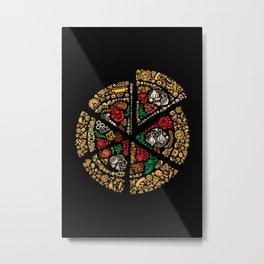 Pizza Pizza Metal Print