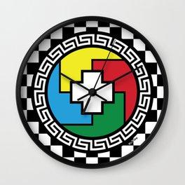 SACRED HOOP Wall Clock
