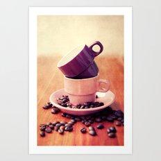 LE CAFE Art Print