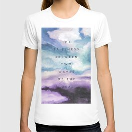 Stillness [Collaboration with Jacqueline Maldonado] T-shirt