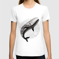 the whale T-shirts featuring Whale by Margarita Kukhtina
