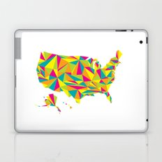 Abstract America Bright Earth Laptop & iPad Skin