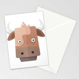 The Cow of Videos Manguis Stationery Cards