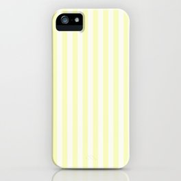 Melo Yellow Stripe iPhone Case