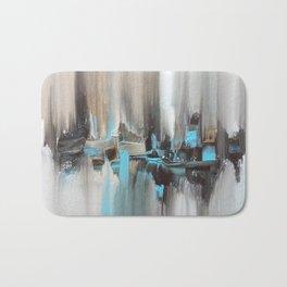 City In A Blur Bath Mat