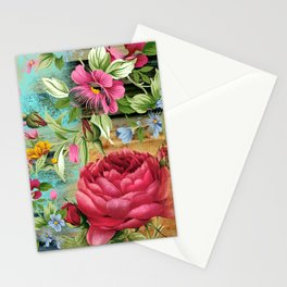 Vintage flowers #11 Stationery Cards