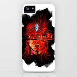 MudBlood iPhone Case