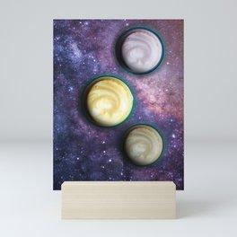 Cappuccino Planets Mini Art Print