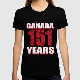 Canada 151 Years Anniversary - Canada Day T-shirt