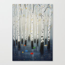 Boats in Trees Canvas Print