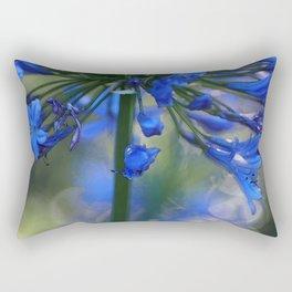 Bokeh Agapanthus Rectangular Pillow
