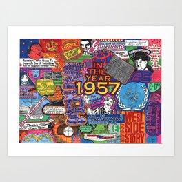1957 Art Print