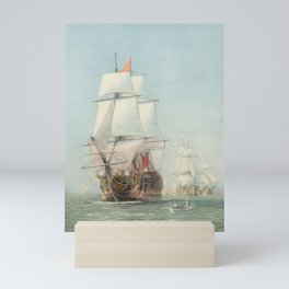 Vintage Ship Art Mini Art Print