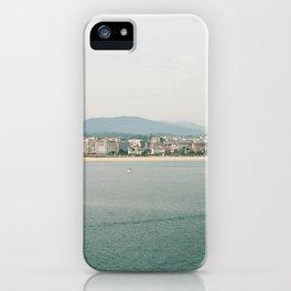 La Concha Beach, San Sebastian - Donostia-San, Spain III iPhone Case