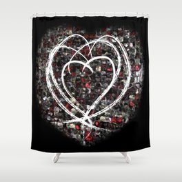 lovex4 Shower Curtain