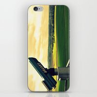 battlefield iPhone & iPod Skins featuring Overlooking the battlefield by Danielle W