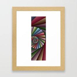 math is beautiful -91- Framed Art Print