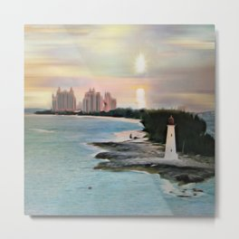 The Islands Of The Bahamas - Nassau Paradise Island Metal Print