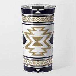 Aztec Ethnic Pattern Art N10 Travel Mug