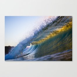 Gold Band Canvas Print