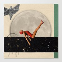 diver Canvas Prints featuring Diver by HumphreyKing