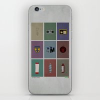 fringe iPhone & iPod Skins featuring Fringe (colors) by avoid peril