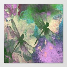Dragonflies ZZ Canvas Print