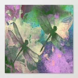 Dragonflies ZZ Canvas Print