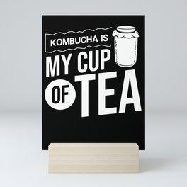Kombucha Scoby Gift Making Brewing Tea Mini Art Print