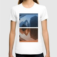 cities T-shirts featuring Two Cities by brittcorry