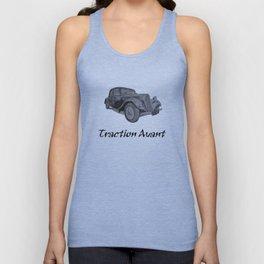 Citroen Traction Avant Unisex Tank Top