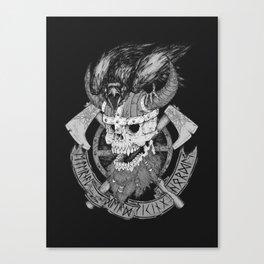 Viking Horde Canvas Print