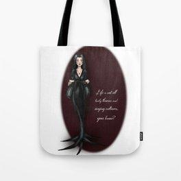 Morticia Tote Bag
