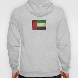 Old and Worn Distressed Vintage Flag of United Arab Emirates Hoody