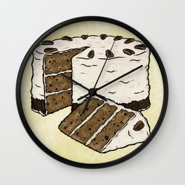 H is for Hummingbird Cake Wall Clock