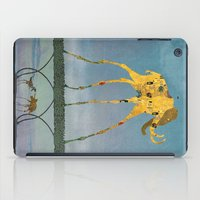 yetiland iPad Cases featuring Dalimt Prehistoric Fantasy by Paula Belle Flores