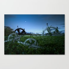 Sprockets in the Mist Canvas Print