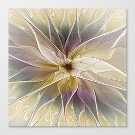 Floral Fantasy, Abstract Fractal Art Canvas Print