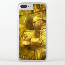 The Cinematographer Clear iPhone Case