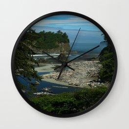 Morning At The Seaside Wall Clock