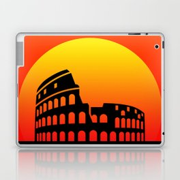 Sunset and colosseum in a red sky Laptop & iPad Skin
